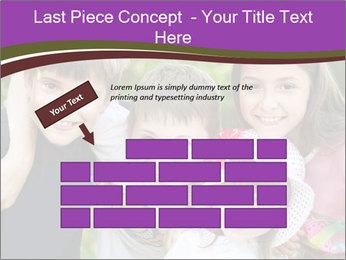 Four Children PowerPoint Template - Slide 46