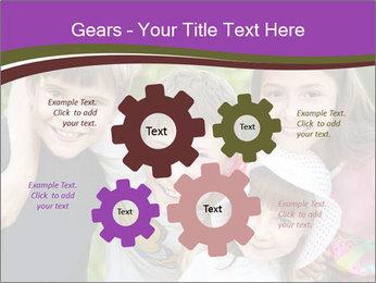 Four Children PowerPoint Template - Slide 47