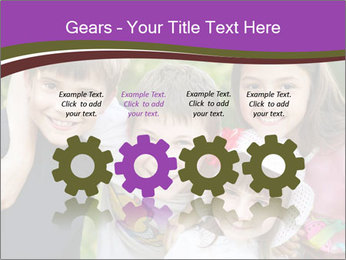 Four Children PowerPoint Template - Slide 48