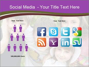 Four Children PowerPoint Template - Slide 5