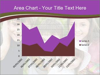 Four Children PowerPoint Template - Slide 53