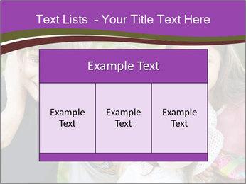 Four Children PowerPoint Template - Slide 59