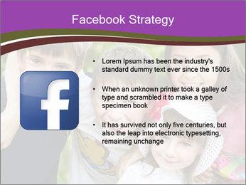 Four Children PowerPoint Template - Slide 6