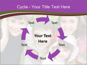 Four Children PowerPoint Template - Slide 62