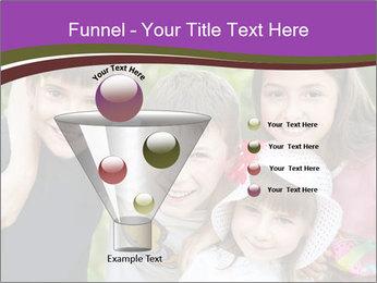 Four Children PowerPoint Template - Slide 63