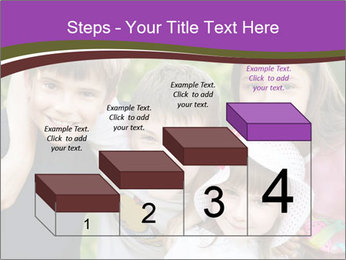Four Children PowerPoint Template - Slide 64