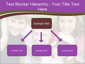 Four Children PowerPoint Template - Slide 69