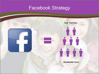 Four Children PowerPoint Template - Slide 7