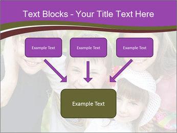 Four Children PowerPoint Template - Slide 70