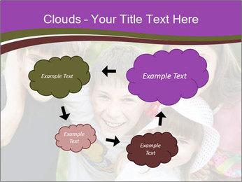 Four Children PowerPoint Template - Slide 72