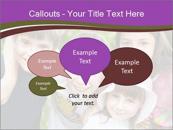 Four Children PowerPoint Template - Slide 73