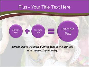Four Children PowerPoint Template - Slide 75