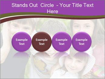 Four Children PowerPoint Template - Slide 76