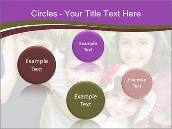 Four Children PowerPoint Template - Slide 77