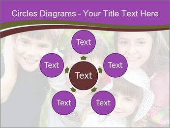 Four Children PowerPoint Template - Slide 78
