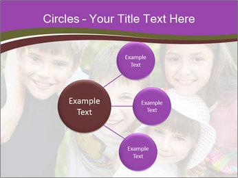 Four Children PowerPoint Template - Slide 79