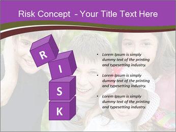 Four Children PowerPoint Template - Slide 81