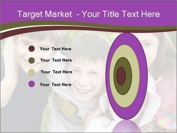 Four Children PowerPoint Template - Slide 84