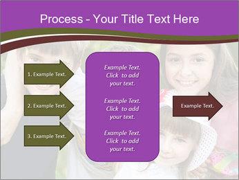 Four Children PowerPoint Template - Slide 85