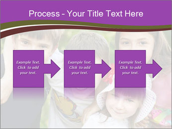 Four Children PowerPoint Template - Slide 88