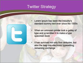 Four Children PowerPoint Template - Slide 9