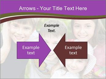 Four Children PowerPoint Template - Slide 90