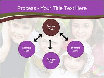 Four Children PowerPoint Template - Slide 91