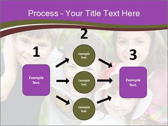 Four Children PowerPoint Template - Slide 92