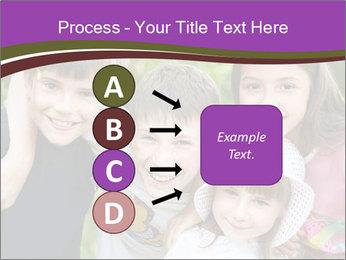 Four Children PowerPoint Template - Slide 94