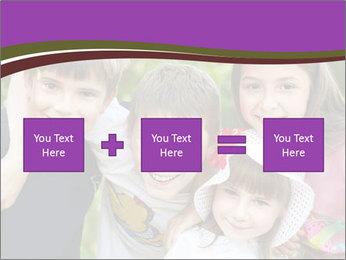 Four Children PowerPoint Template - Slide 95