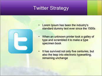 Green Vitality PowerPoint Template - Slide 9