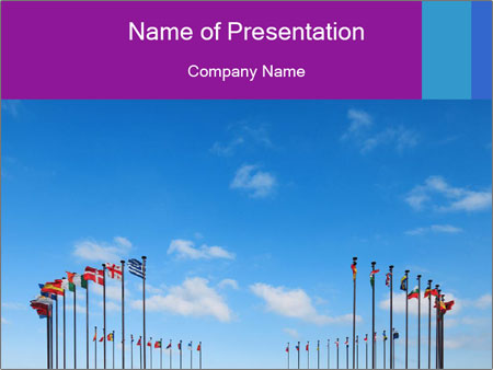 International Diplomacy PowerPoint Template