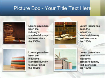 Book From Library PowerPoint Templates - Slide 14