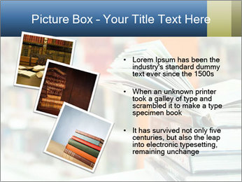 Book From Library PowerPoint Templates - Slide 17