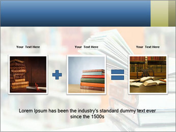 Book From Library PowerPoint Templates - Slide 22