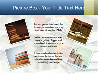 Book From Library PowerPoint Templates - Slide 24