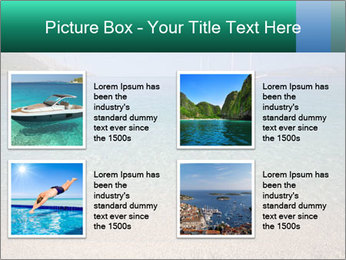 Mediterranean Beach PowerPoint Template - Slide 14