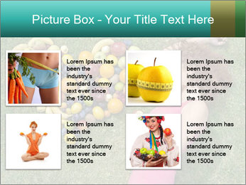 Woman Loves Fruits PowerPoint Templates - Slide 14