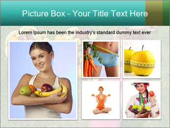 Woman Loves Fruits PowerPoint Templates - Slide 19