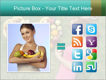 Woman Loves Fruits PowerPoint Templates - Slide 21