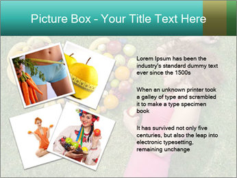 Woman Loves Fruits PowerPoint Templates - Slide 23