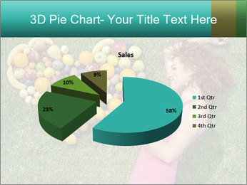 Woman Loves Fruits PowerPoint Templates - Slide 35
