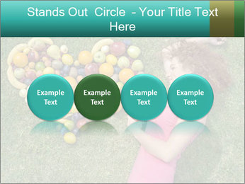 Woman Loves Fruits PowerPoint Templates - Slide 76