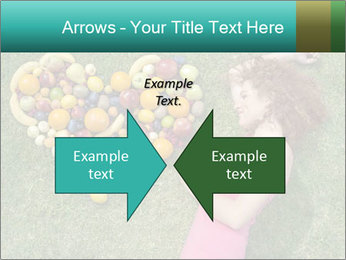 Woman Loves Fruits PowerPoint Templates - Slide 90