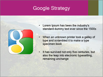 Cliffs In Columbia PowerPoint Template - Slide 10
