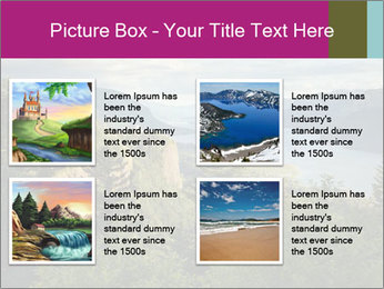 Cliffs In Columbia PowerPoint Templates - Slide 14