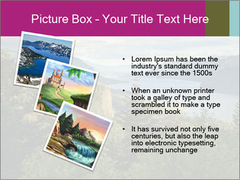 Cliffs In Columbia PowerPoint Template - Slide 17