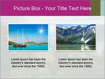 Cliffs In Columbia PowerPoint Template - Slide 18