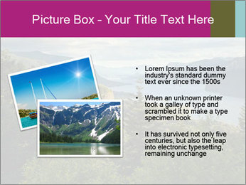 Cliffs In Columbia PowerPoint Template - Slide 20