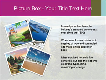 Cliffs In Columbia PowerPoint Templates - Slide 23